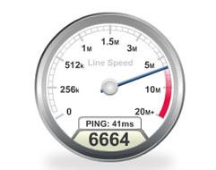 проверить скорость интернета бесплатно