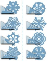 Как сделать снежинку из бумаги?