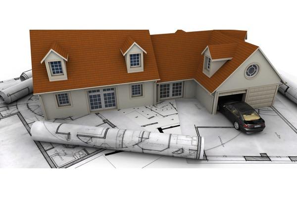 План гаража возле дома