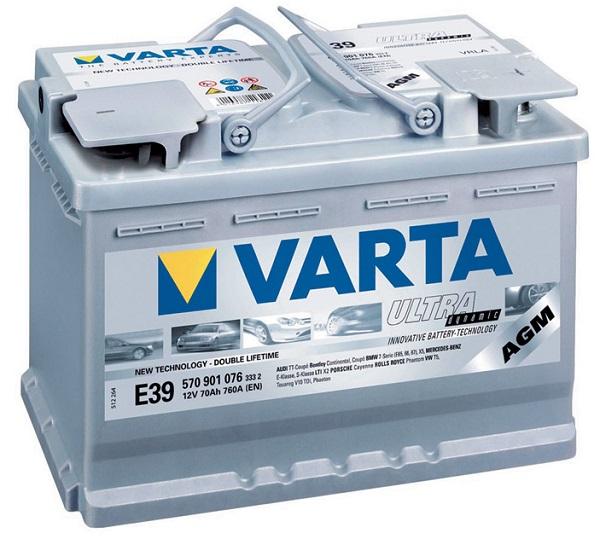 Аккумулятор Varta 12V
