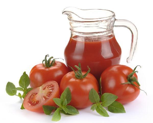 Томатный сок из помидор
