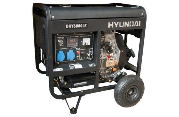 Мощный генератор Hyundai
