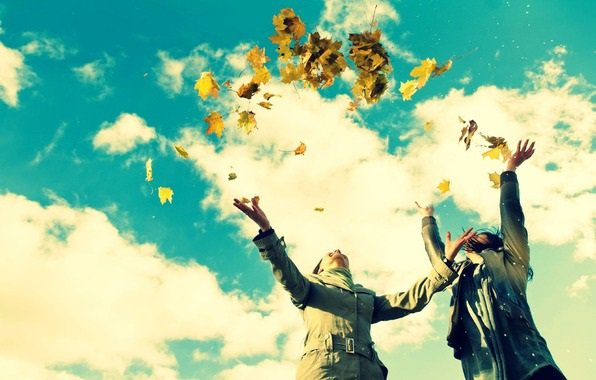 Воздушные шары приносят радость