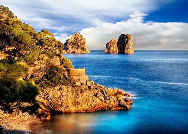 Остров Капри – жемчужина Средиземноморья