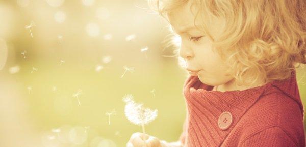 Ребёнок загадывает желание