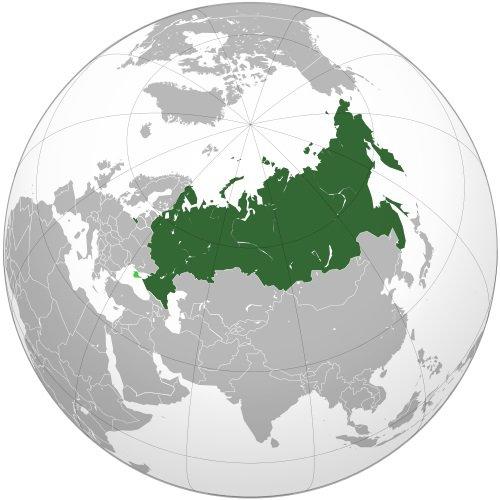 Местоположение России