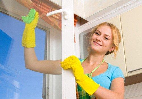 Специальные средства для очистки стекла