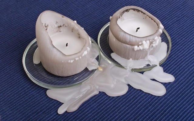 Пятно от свечи