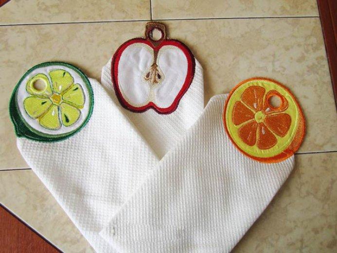 Кухонные полотенца после вываривания