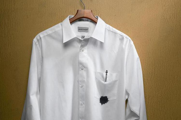 Как сделать пятно на рубашке 238