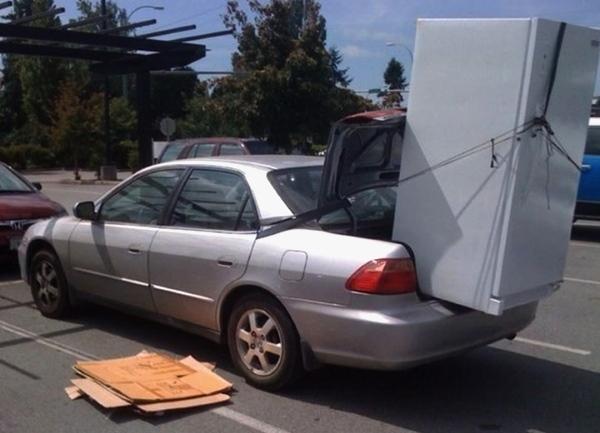 Kühlschrank Im Auto Transportieren : Ob es möglich ist den kühlschrank in der rückenlage zu transportieren