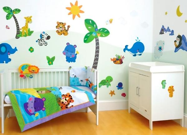 Наклейки на стены детские