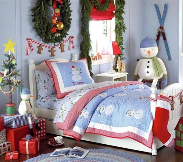Новогодние постельное принадлежности для детской