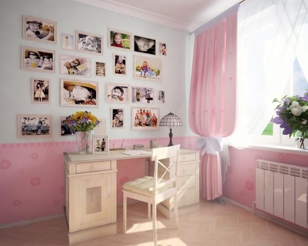 Декор детской фотографиями