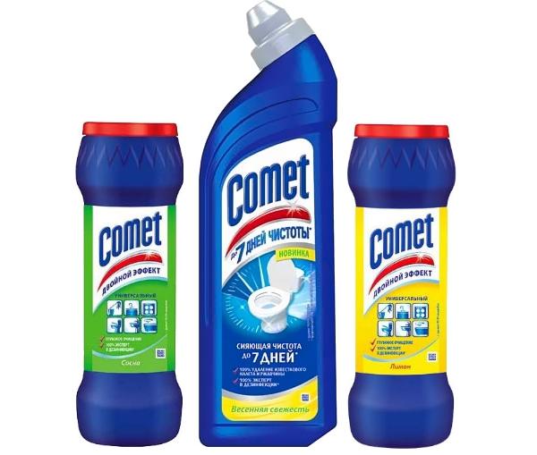 Comet для чистки унитаза