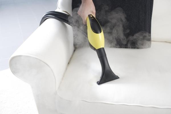 Очистка мягкой мебели пароочистителем