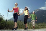 Скандинавская ходьба – новый популярный вид фитнеса.